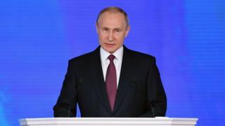 بوتين يحذر من رد قاس فى حالة تجاوز خطوط روسيا الحمراء