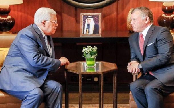 العاهل الأردني يؤكد ضرورة إطلاق مفاوضات جادة لإقامة الدولة الفلسطينية المستقلة