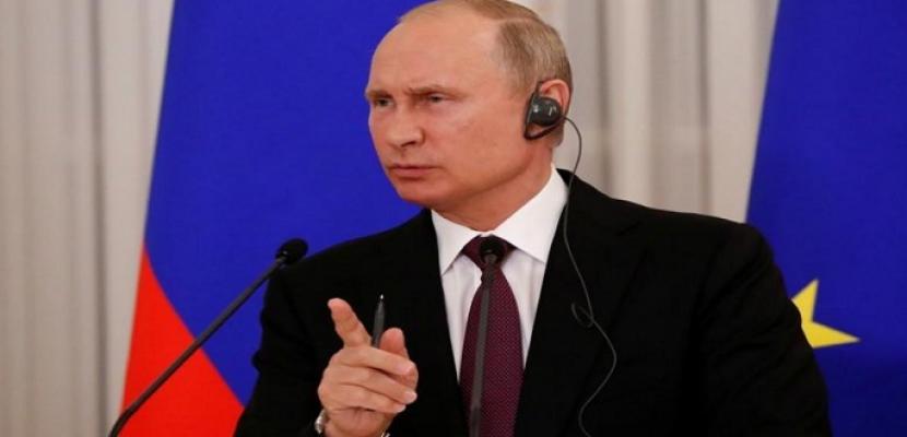 بوتين لنظيره الأمريكي: القاتل هو من يصف الآخر بذلك