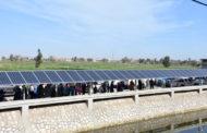 الري بالطاقة الشمسية يوفر للفلاح 3600 جنيه شهريا
