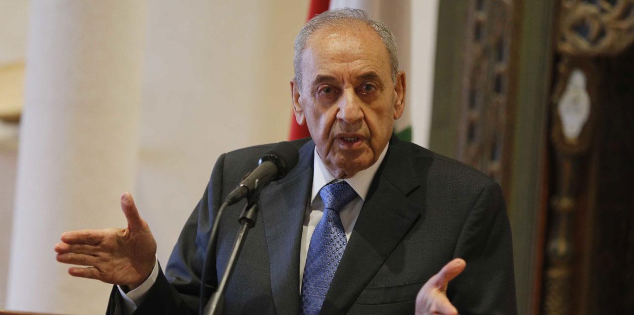 نواب يقولون رئيس البرلمان اللبناني يدعو إلى تأجيل القمة الاقتصادية العربية