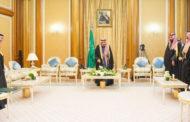 الأمراء والوزراء وأعضاء مجلس الشورى السعودي يؤدون القسم أمام الملك سلمان
