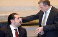 الحريرى يبحث مع باسيل مستجدات تشكيل الحكومة اللبنانية