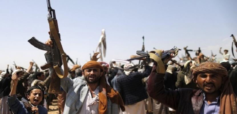 تدمير شبكة اتصالات ضخمة للحوثيين.. ومصرع قيادي ميداني فى تعز