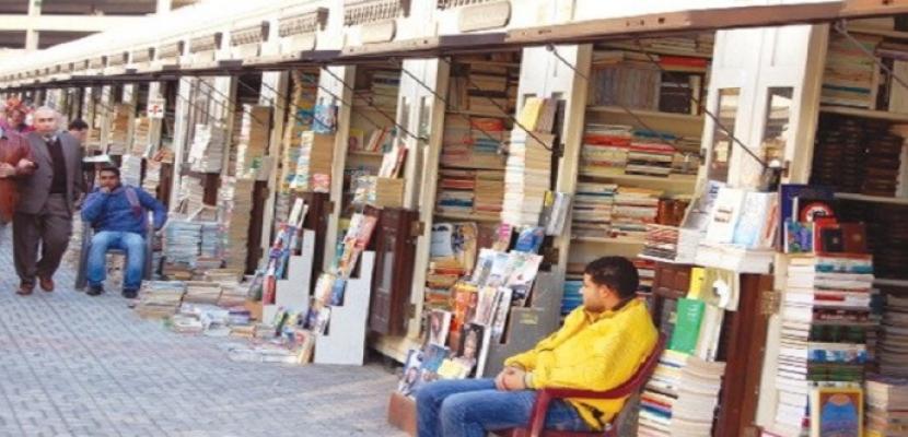 اليوم .. انطلاق مهرجان سور الأزبكية للكتاب بمشاركة 133 بائعا