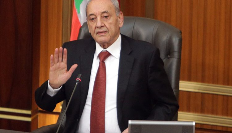 رئيس مجلس النواب اللبناني: لابد من إعلان حالة طوارىء اقتصادية وإصلاحية في البلاد