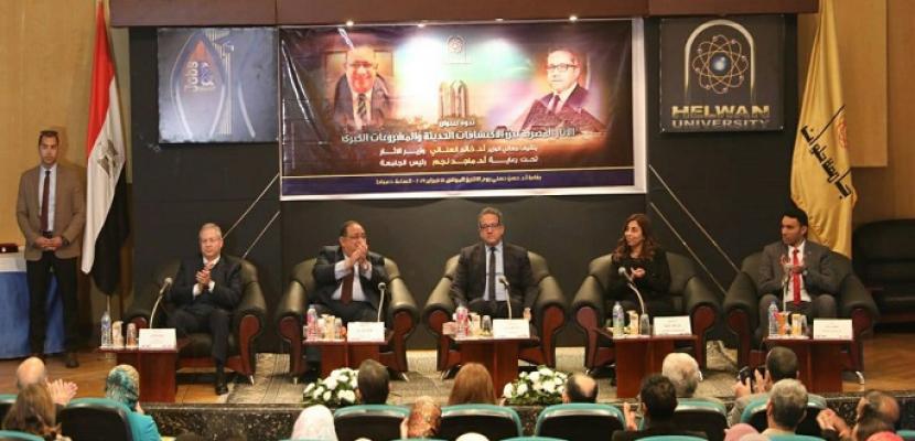 العناني: افتتاح المتحف المصري الكبير خلال عام ٢٠٢٠