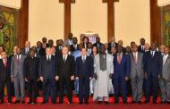 الرئيس السيسي يلتقي رؤساء المحاكم الدستورية والعليا الأفارقة