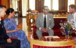 هاري وميجان يختتمان زيارة المغرب بحفل شاي ملكي