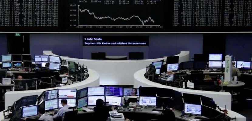 أسهم أوروبا تهبط متضررة من تعثر النمو في الاتحاد الأوروبي