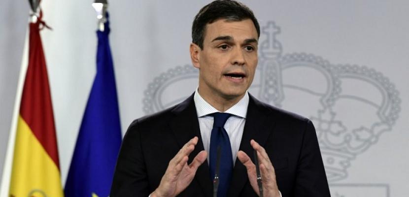 رئيس وزراء إسبانيا: من المتوقع الدعوة لإجراء انتخابات عامة بعد غد الجمعة