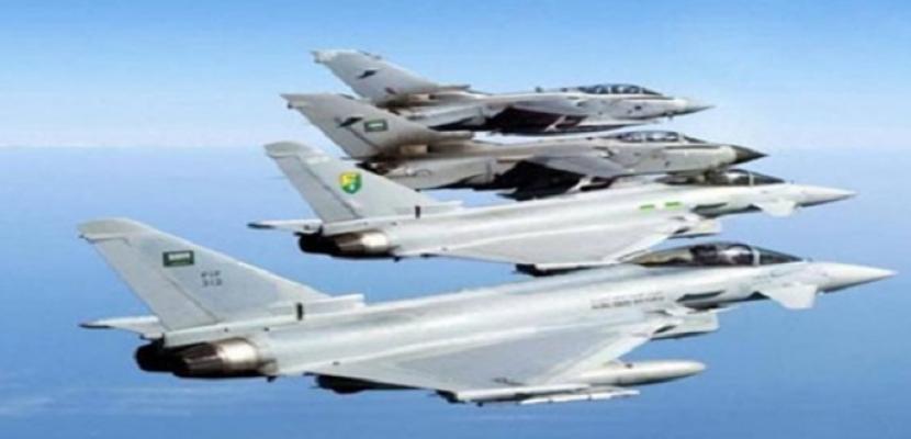 التحالف العربي يستهدف مواقع تخزين طائرات مسيرة في صنعاء