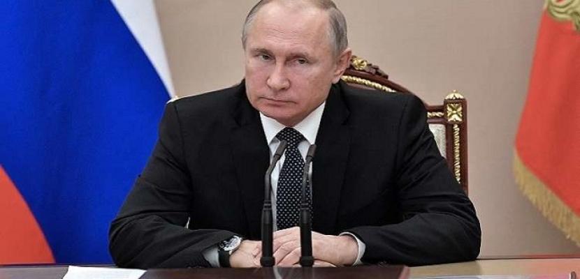 الرئيس الروسى يقبل دعوة لزيارة إيطاليا سيُحدد موعدها لاحقا