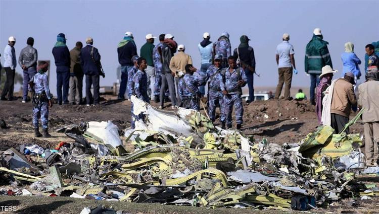 الخطوط الجوية الإثيوبية تقرر نقل الصندوقين الأسودين للطائرة المنكوبة إلى الخارج