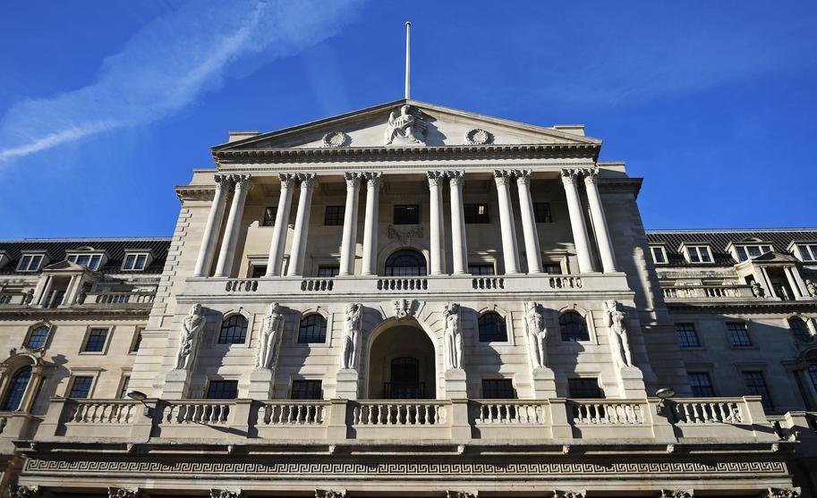 بنك انكلترا يبقي على معدلات الفائدة دون تغيير عند 0.75%
