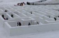 مانيتوبا: متاهة الثلج في مدينة سانت أدولف تحطّم رقما قياسيّا