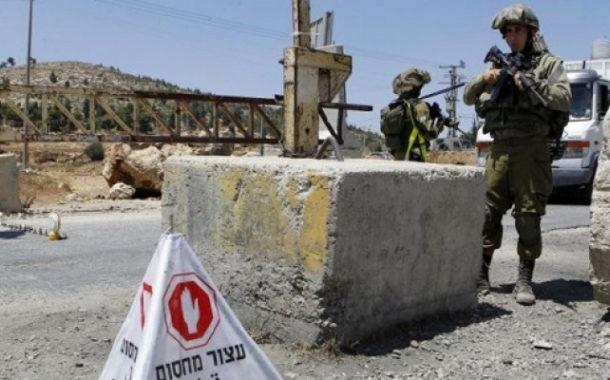 بعد ساعات من سقوط الصاروخ الفلسطينى .. إسرائيل تفرض طوقاً شاملاً على قطاع غزة