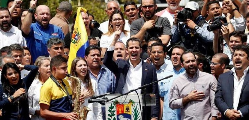 جوايدو يدعو الفنزويليين للتحضير لعملية الإمساك بزمام السلطة فى البلاد