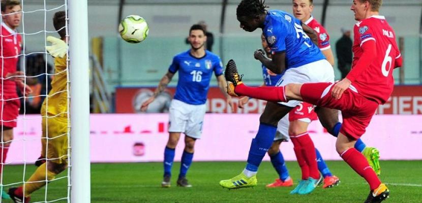 إيطاليا تكتسح ليشتنشتاين بسداسية نظيفة فى تصفيات يورو 2020
