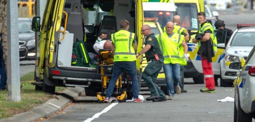 مقتل 49 في إطلاق نار بمسجدين في نيوزيلندا ورئيسة الوزراء  تصفه بهجوم «إرهابي»