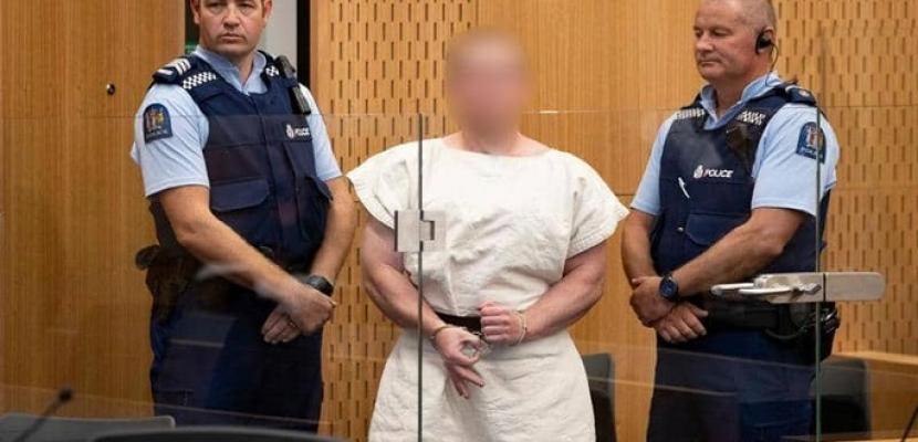 وسط إجراءات أمنية مشددة .. سفاح نيوزيلندا يمثل أمام المحكمة بتهمة القتل