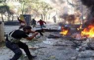"""""""سوريا الديمقراطية"""":داعش تتخذ المدنيين دروعا بشرية بآخر معاقلها بالباغوز"""