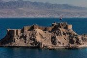 قلعة صلاح الدين بطابا تنضم لمنظومة الإضاءة باللون الأزرق احتفالا بيوم المياه العالمي