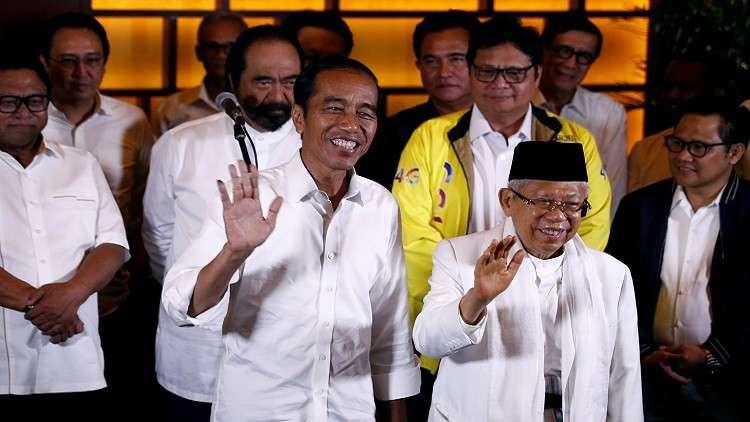 ويدودو يتجه للفوز في الانتخابات الرئاسية الإندونيسية