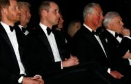 أمراء العائلة المالكة في بريطانيا يحضرون العرض الأول لمسلسل (أور بلانت)