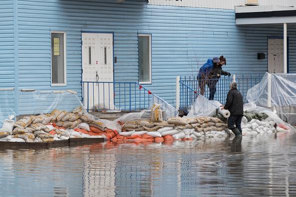 3152 résidences inondées et 1418 résidents évacués