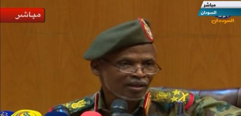 المجلس العسكري بالسودان: مهمتنا الأساسية حفظ أمن واستقرار البلاد