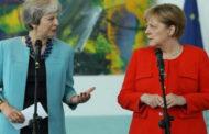 ميركل تجتمع مع ماي في برلين لبحث خروج بريطانيا من الاتحاد الأوروبي