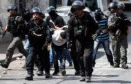 قوات الاحتلال الإسرائيلي تعتقل 9 فلسطينيين في الضفة الغربية