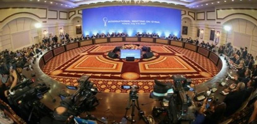 """جولة جديدة من """"محادثات أستانا"""" حول سوريا في 25 و26 أبريل الجاري"""