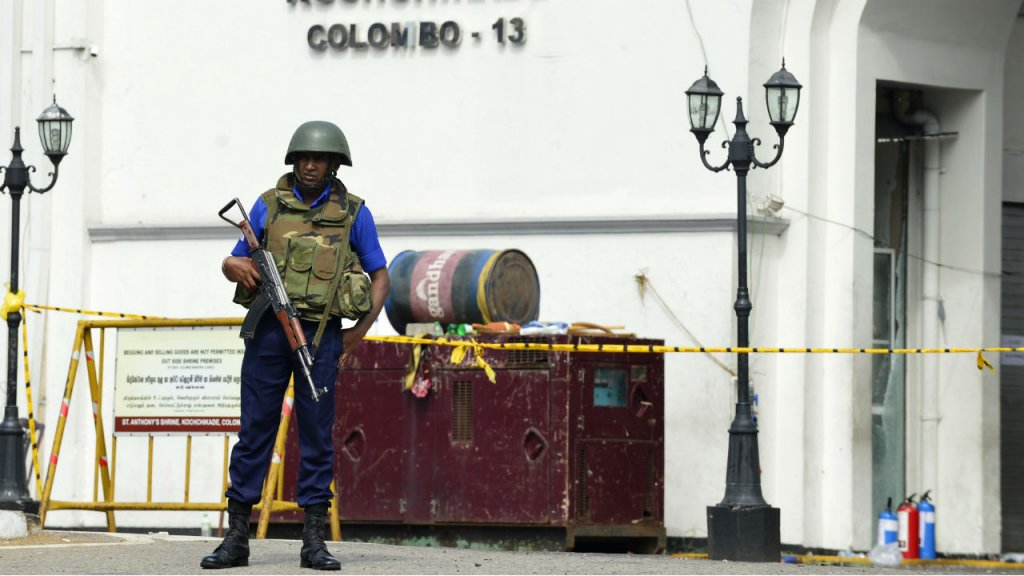 """تنظيم """"الدولة الإسلامية"""" يعلن مسؤوليته عن هجمات سريلانكا الدامية"""