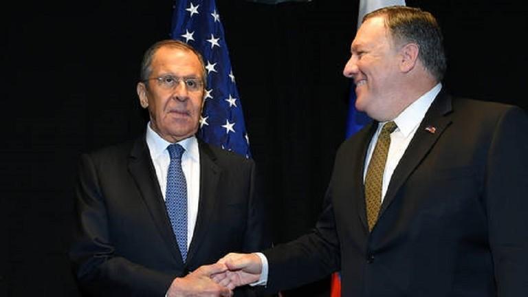 بومبيو يبدي استعداده للتوصل لحلول للقضايا الخلافية مع روسيا
