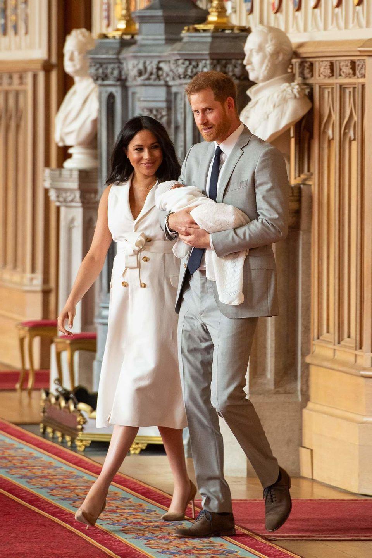 الأمير هاري يعود لعمله بعد ولادة طفله آرتشي