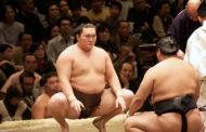 مشجعو رياضة السومو اليابانية يرحبون بجائزة ترامب ويتمنون أن يجلس متربعا