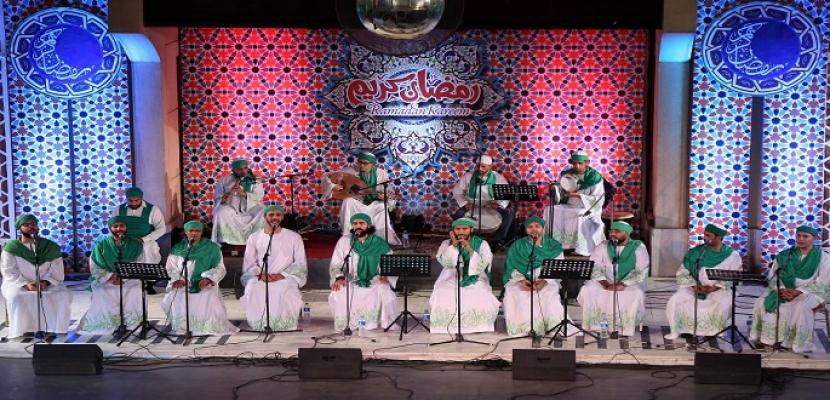 الحضرة الصوفية في ليالي الأوبرا الرمضانية بالقاهرة والإسكندرية