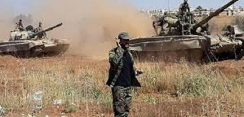 الجيش السوري يدمر عددا من أوكار الإرهابيين في ريف إدلب الجنوبي