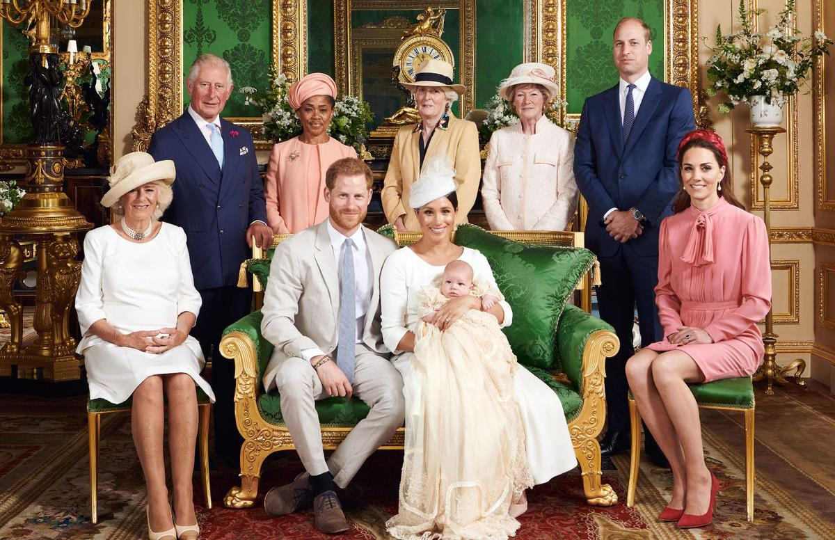 تعميد آرتشي نجل الأمير هاري وزوجته ميجان في قلعة وندسور