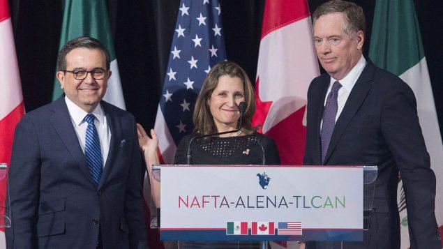 """قلق في كندا والمكسيك على مصير اتفاق """"نافتا"""" الجديد"""