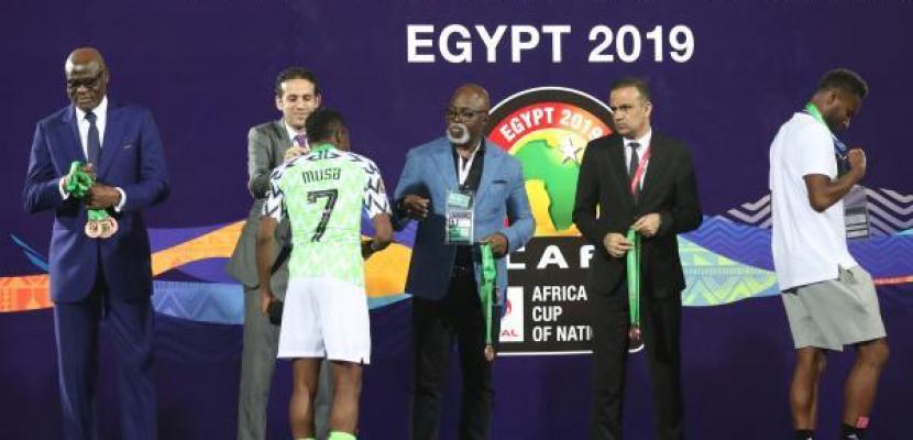 نيجيريا تهزم تونس بهدف وتخطف برونزية الكان
