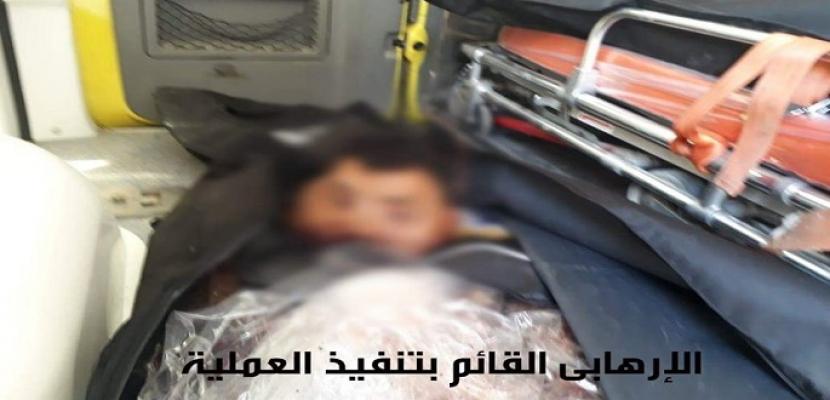 المتحدث العسكري: إحباط هجوم انتحاري على أحد الارتكازات الأمنية بشمال سيناء.. ومقتل المنفذ