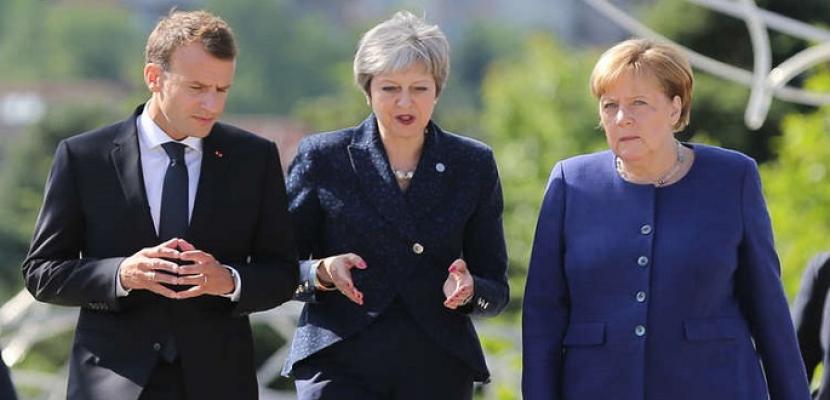 فرنسا وبريطانيا وألمانيا تعبر عن قلقها من مخاطر انهيار الاتفاق النووي الإيراني