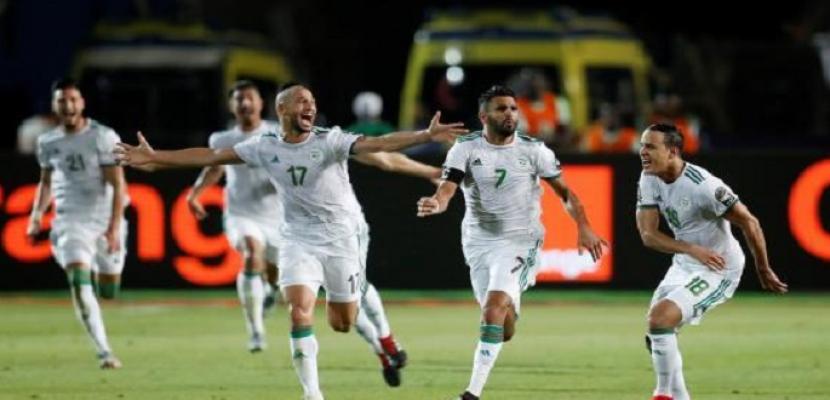 محرز يقود الجزائر للفوز على نيجيريا والتأهل لنهائي كأس أمم أفريقيا