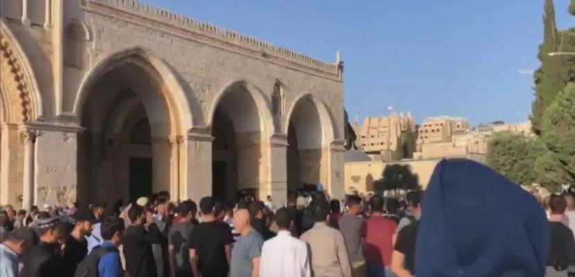 مستوطنون إسرائيليون يقتحمون المسجد الأقصى