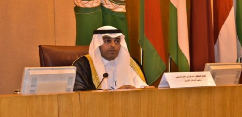 رئيس البرلمان العربي يُطالب برفع اسم السودان من قائمة الدول الراعية للارهاب