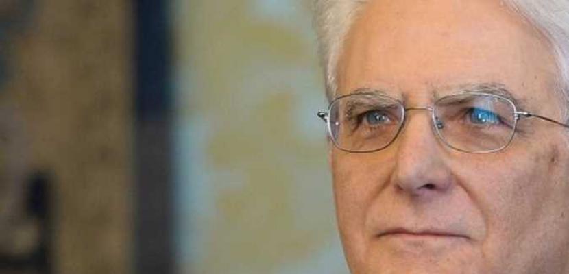 رئيس ايطاليا يجرى محادثات لحل أزمة استقالة رئيس الوزراء