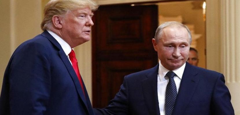 بوتين: موسكو وواشنطن تقفان في طليعة مواجهة التحديات العالمية